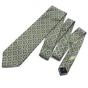 Ermenegildo Zegna Men's Luxury Silk Neck Tie Green